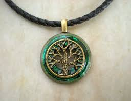 green tree jewelry mens necklace
