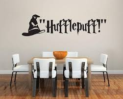 Hufflepuff Sticker Vinyl Wall Decal Home Decorate Large Wall Etsy