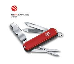 victorinox nailclip 580 in red 0 6463