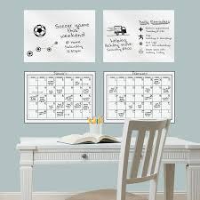 Brewster Home Fashions 4 Piece Dry Erase Calendar Whiteboard Wall Decal Set Wayfair