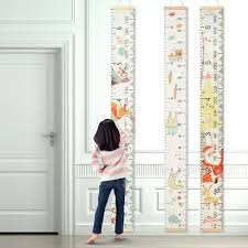 Wooden Kids Growth Height Chart Ruler Child Room Decor Wall Hanging Measure W5h Home Garden Height Charts Gastrope Com Br