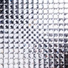 13 faced diamond crystal glass mosaic
