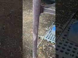 Mudcontrol 100 Recycled Plastic Fence Post 8cm Or 10cm Diameter Youtube