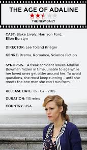 The Age of Adaline' is the prettiest film of the year | The New Daily