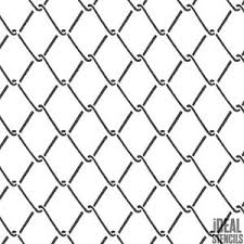 Mesh Wire Fence Stencil Home Decor Craft Stencil Paint Walls Fabrics Furniture Ebay