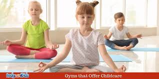 gyms that offer childcare