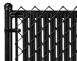 Black 6ft Ridged Slat For Chain Link Fence Walmart Com Walmart Com