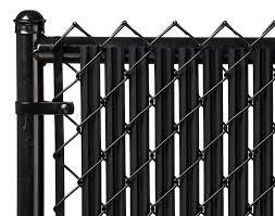 Black 4ft Ridged Slat For Chain Link Fence Walmart Com Walmart Com
