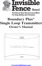 3002587 Boundary Plus Single Loop Transmitter User Manual Radio Systems