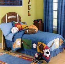 Sports Theme Bedroom Ideas For Boys Ehow Com Sports Themed Bedroom Bedroom Themes Sport Bedroom