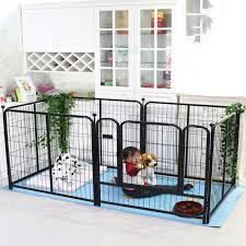 Pet Fence Large Dog Indoor And Outdoor Isolation Prisoner Cage Railing Houses Kennels Pens Aliexpress