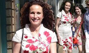 Andie MacDowell and her daughter Sarah step out in Venice Beach in ...