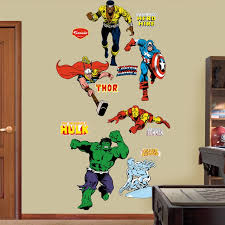 Super Hero Wall Decals By Fathead