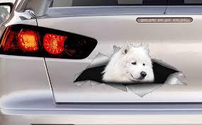 Samoyed Dog Pet Decal For Vehicle Car Van Laptop Fun Gift Idea Etsy