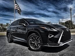 2016 lexus rx f sport rx350 black black