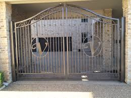 Custom Driveway Gates W Monogram Fence Companies Gate Companies Lifetime Fence Company Frisco Fort Worth Denton Lewisville