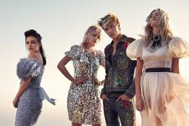 C MAGAZINE: Pyper America Smith, Sarlie, Daisy Clementine & Lucky Blue  Smith by Mary McCartney | Image Amplified