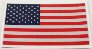American Flag Window Decal Chicago Fire And Cop Shop