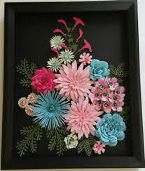 roses paper flower arrangement handmade