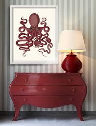 octopus print 9 nautical home decor