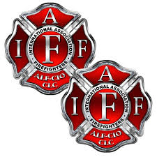 Firefighter Iaff Cross 2 Pack Stickers Buy Online In Aruba At Desertcart