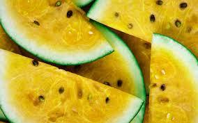 تحميل خلفيات البطيخ الأصفر الفواكه التوت البطيخ الخلفية مع