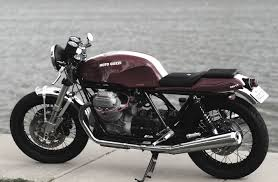 moto guzzi 850t3 cafe racer return of