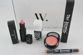 november 2016 wantable makeup review