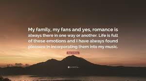 """marc anthony quote """"my family my fans and yes r ce is always"""