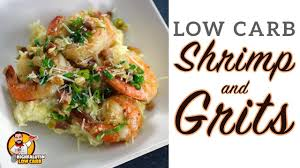Low Carb SHRIMP and GRITS - EASY ...