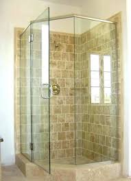 stand alone outdoor shower small