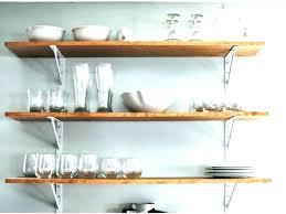 interesting design kitchen wall shelves