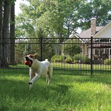 York Aluminum Fence Panel Aluminum Fence Freedom Outdoor Living For Lowes