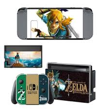 The Legend Of Zelda Decal Nintendo Switch Ns Console Joy Con Controller Dock Station Protective Skin Consoleskins Co