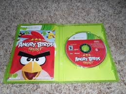 ANGRY BIRDS TRILOGY XBOX 360 GAME w/ Instructions