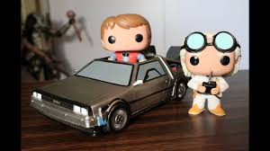 Back to the Future Funko Pop Time Machine, Marty McFly & Dr ...