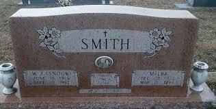 SMITH, MELBA - Miller County, Arkansas | MELBA SMITH - Arkansas ...