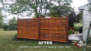 Decorative Garden Fence Staining Legacy Painting