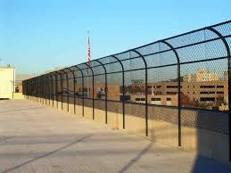 Department Of Veterans Affairs Medical Center Parking Garage Columbia Missouri Robinson Fence Springfield Mo Wood Fencing Chain Link Fencing Vinyl Fencing Commercial Fencing Ornamental Fencing