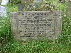 Ada Sullivan Lonsdale (1890-1946) - Find A Grave Memorial