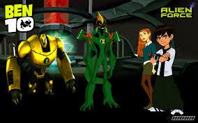 ben ten alien force cartoon wallpapers
