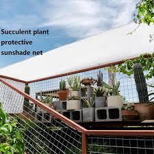 220gsm Quality White Anti Uv Sunshade Net Windowsill Balcony View Fence Cloth Garden Succulent Plant Protective Netting 0 9mx5m Shade Sails Nets Aliexpress
