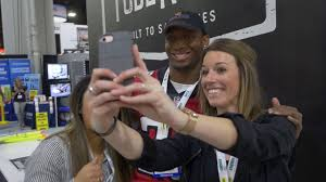 HANNIBAL INDUSTRIES WELCOMES NFL SAFETY SHARROD NEASMAN TO MODEX 2018 -  YouTube
