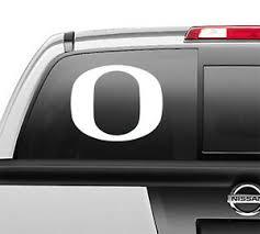 Oregon Ducks Football O Car Truck Laptop Vinyl Window Vinyl Decal Ebay