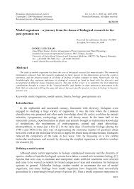 pdf model organisms a journey from