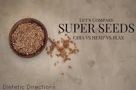 super seeds chia vs hemp vs flax