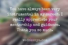 words of appreciation for mentor in thank you mentor quotes