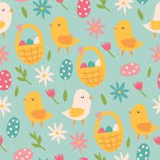 cute easter wallpaper pattern