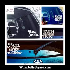 Belle Ayana Boutique Our Faith Can Move Mountains Car Decals Belle Ayana This Too Shall Pass Facebook