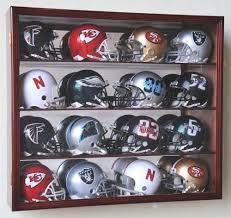 riddell mini helmet display case
